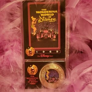 Tinkerbell collector's coin. 90's
